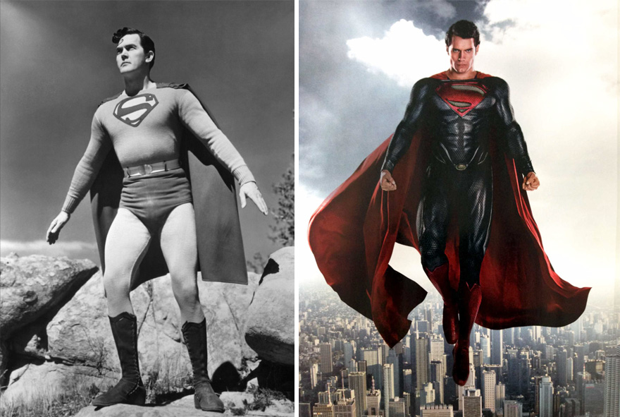Superman 1948 And 2016