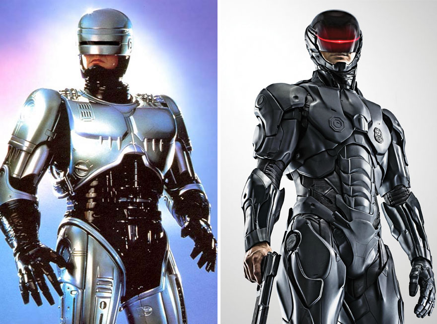 Robocop 1987 And 2014