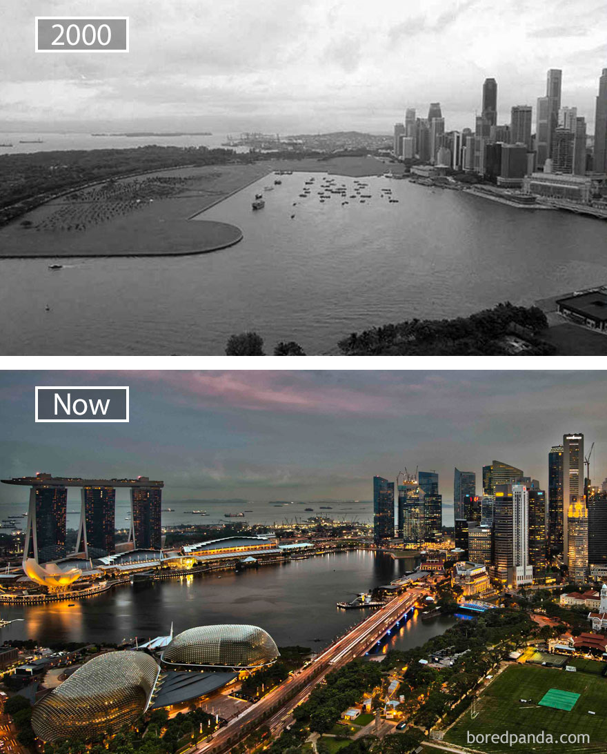 Singapore, Republic Of Singapore – 2000 And Now